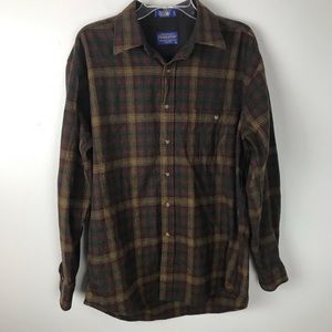 Pendleton | Wool Plaid Trail Shirt Elbow Patches